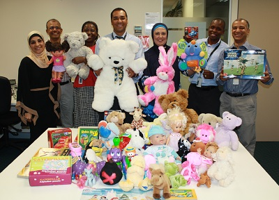 Centrelink toy drive