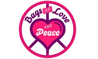 Bags of Love and Peace logo