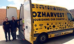 OzHarvest volunteers