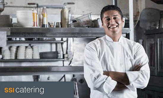 SSI catering image of a chef