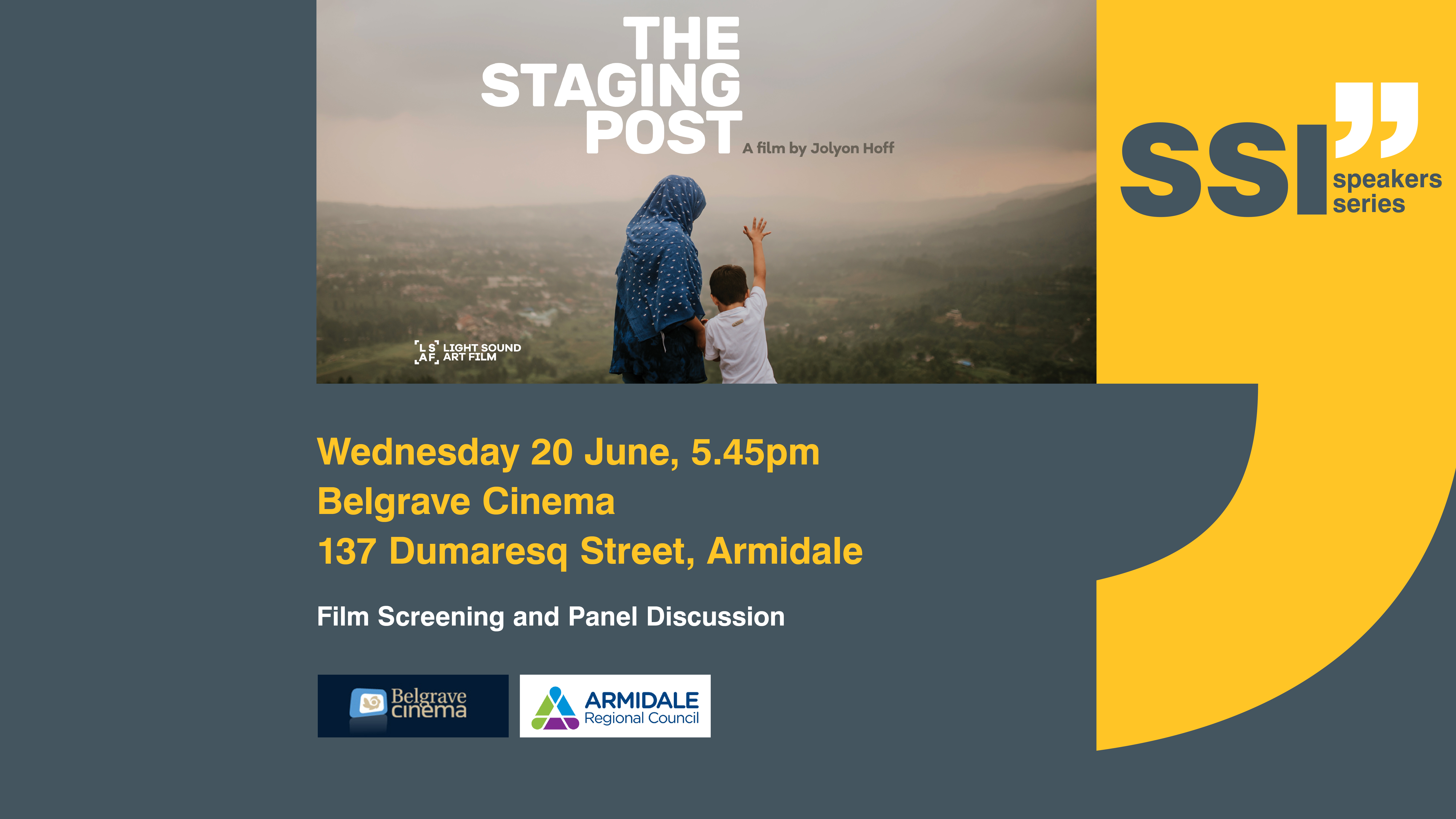 Armidale ssi speakers series the staging post