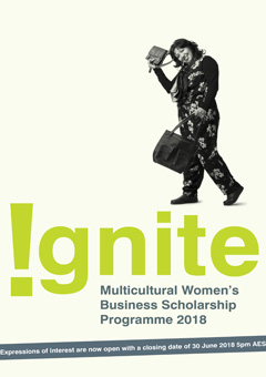 Ignite Multicultural Women's Business Scholarship Programme 2018
