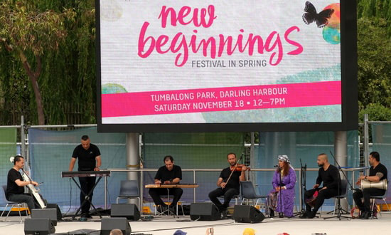New Beginnings Festival in Spring