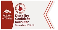 Disability Confident Recruiter logo