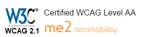 wcag 2.1 certification me2