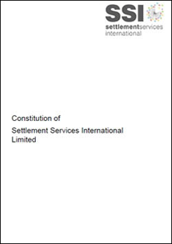 SSI Constitution Cover