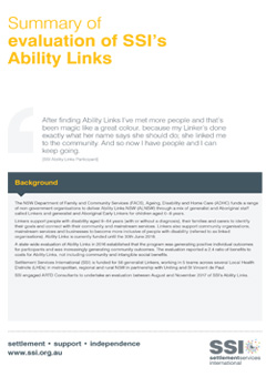 AbilityLinks publication front cover