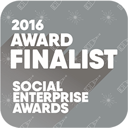 SEA Finalist, social enterprise awards, logo