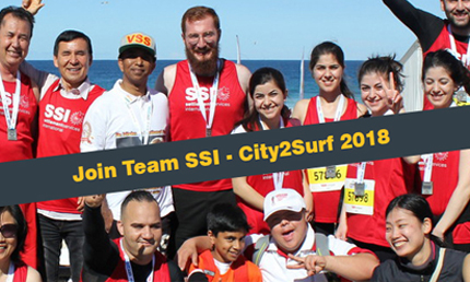The City2Surf is a fantastic opportunity to provide newcomers and people who have experienced vulnerability with the experience of being one of 80,000 community members, united with one goal.