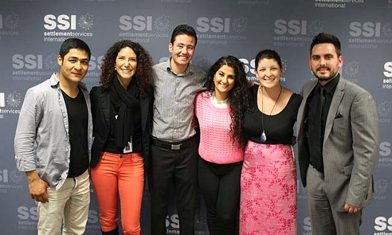 The participants in SSI's Speakers' Series on November 11.