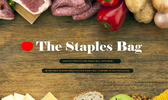 The Staples Bag