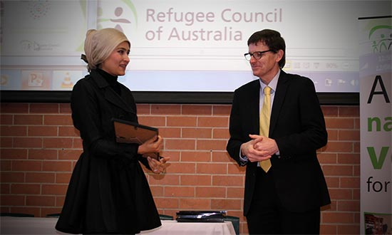 Refugee Week award