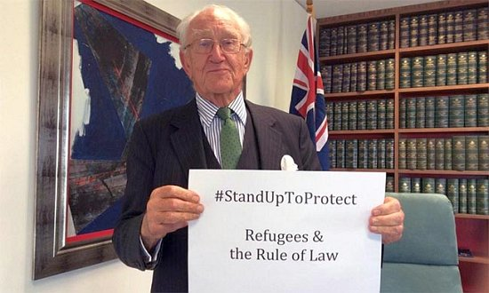 The late Malcolm Fraser was a staunch advocate for refugees.
