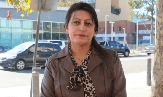 Driven refugee mother finds employment