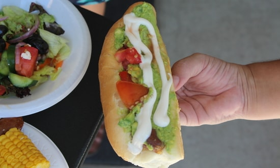 Completo hotdogs from Chile