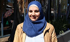 Fatema is a refugee who is beginning a new life in Australia.