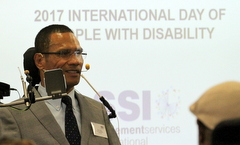 Mark Tonga, Chair of Disability Council NSW