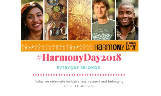 Harmony Day banner images