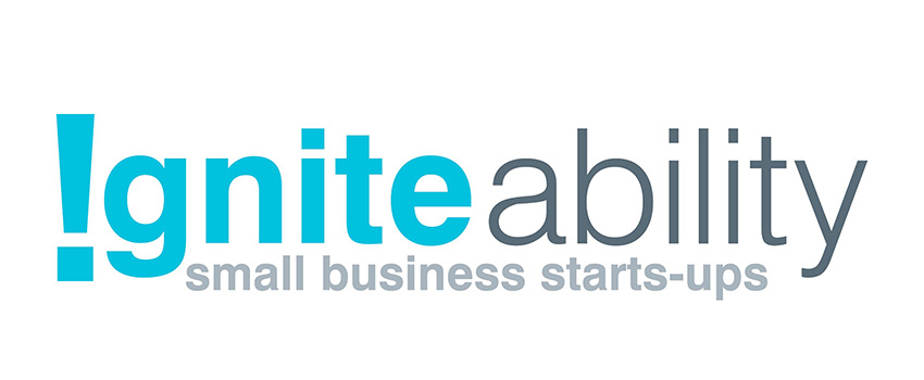 A logo linking to the IgniteAbility Small Business Start-ups
